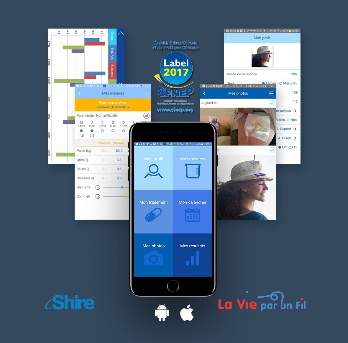 Plus d'information sur l'app