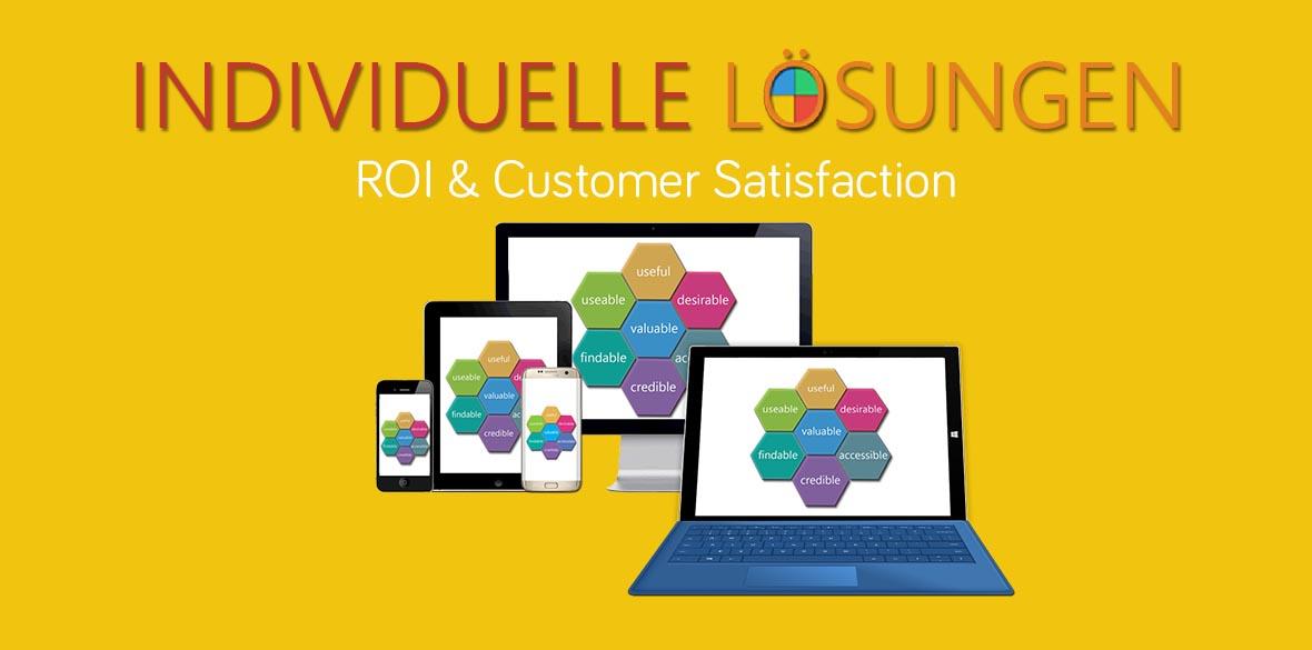 Unsere individuellen Lösungen für Ihren digitalen Erfolg: das 3E Prinzip, Ideen 3E, Audit & Consulting 3E, Stand-alone Apps 3E, Integrierte Applikationen 3E, Digitale Plattformen: iOS, Android, Windows, PHP, .NET, Cloud, etc.